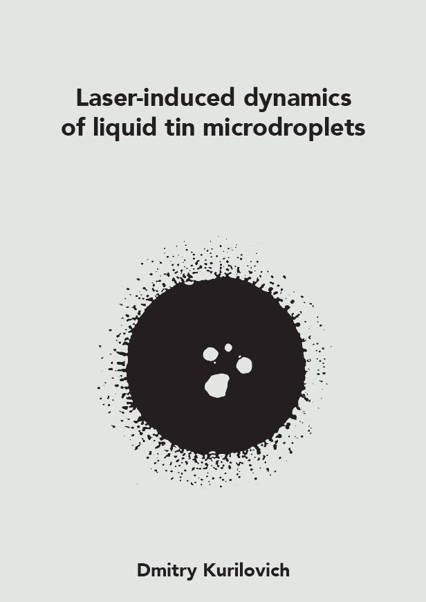 Cover of Laser-induced dynamics of liquid tin microdroplets