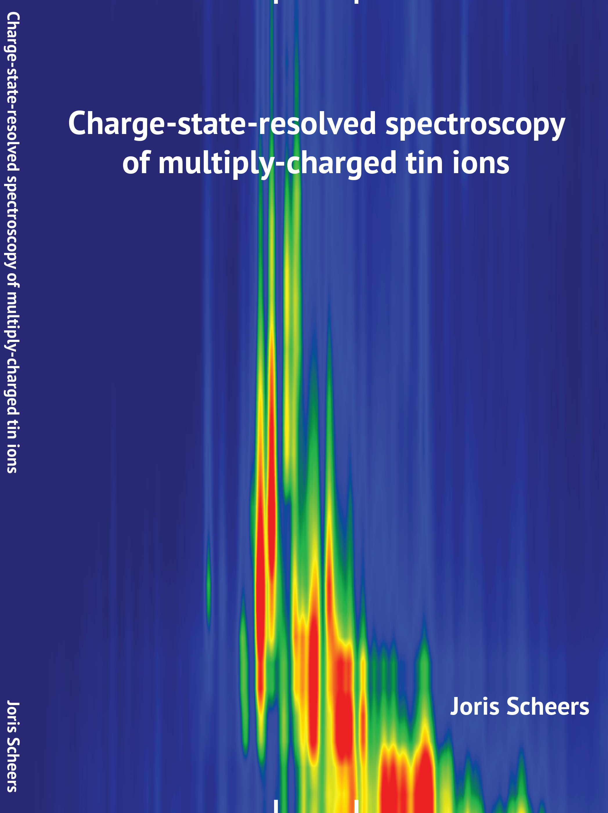 Cover of Charge-state-resolved spectroscopy of multiply-charged tin ions